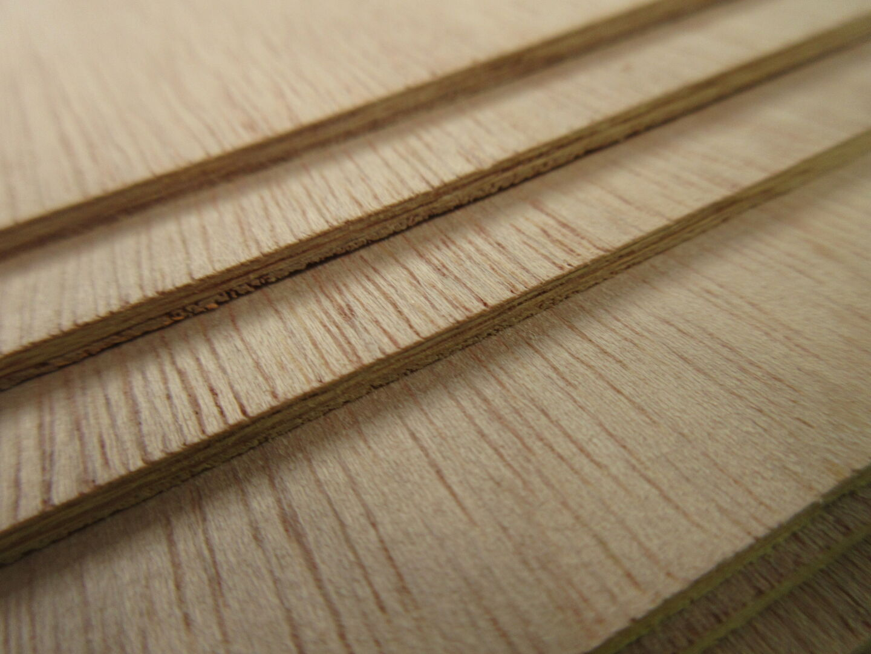 Tropical hardwood plywood
