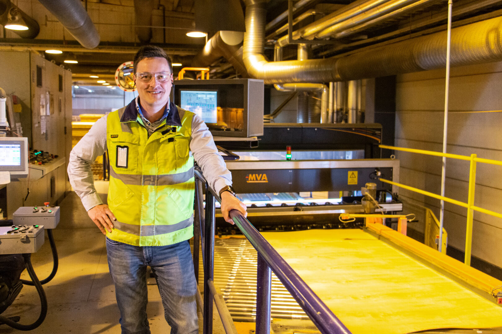 """""""With updating the machinery, we were able to increase our performance by improving the control of dryer conditions.""""  Antti Kotro, Production Manager, Koskisen Oy"""