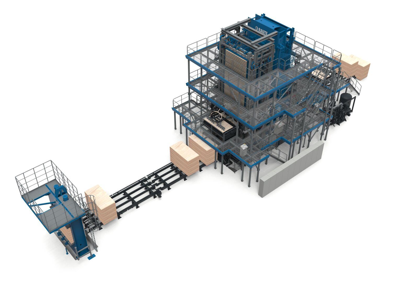 Plywood Pressing Line R7