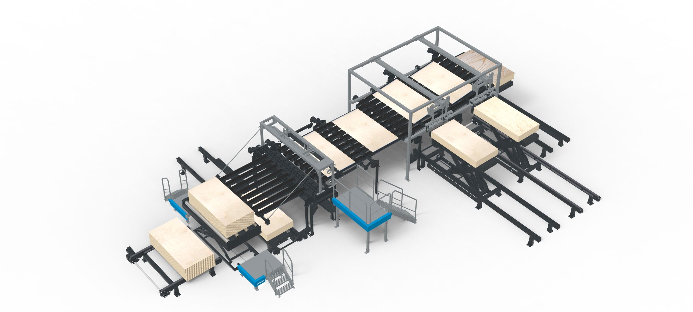Plywood Lay-up Line R3