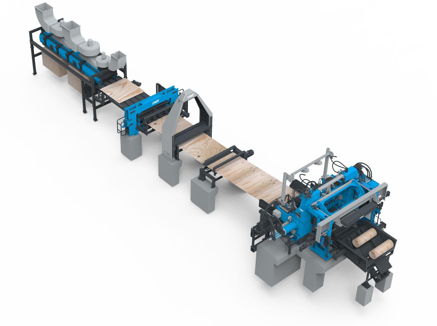 Veneer Peeling Line R5