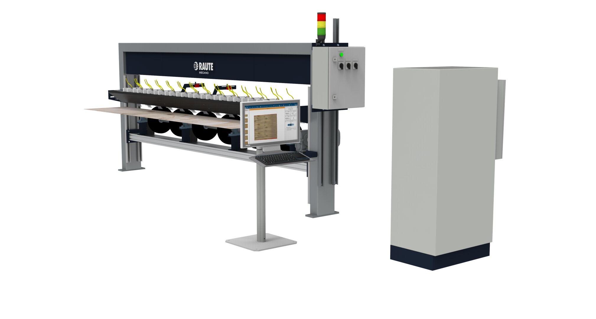 Veneer Moisture Analyzer R5 - Drying