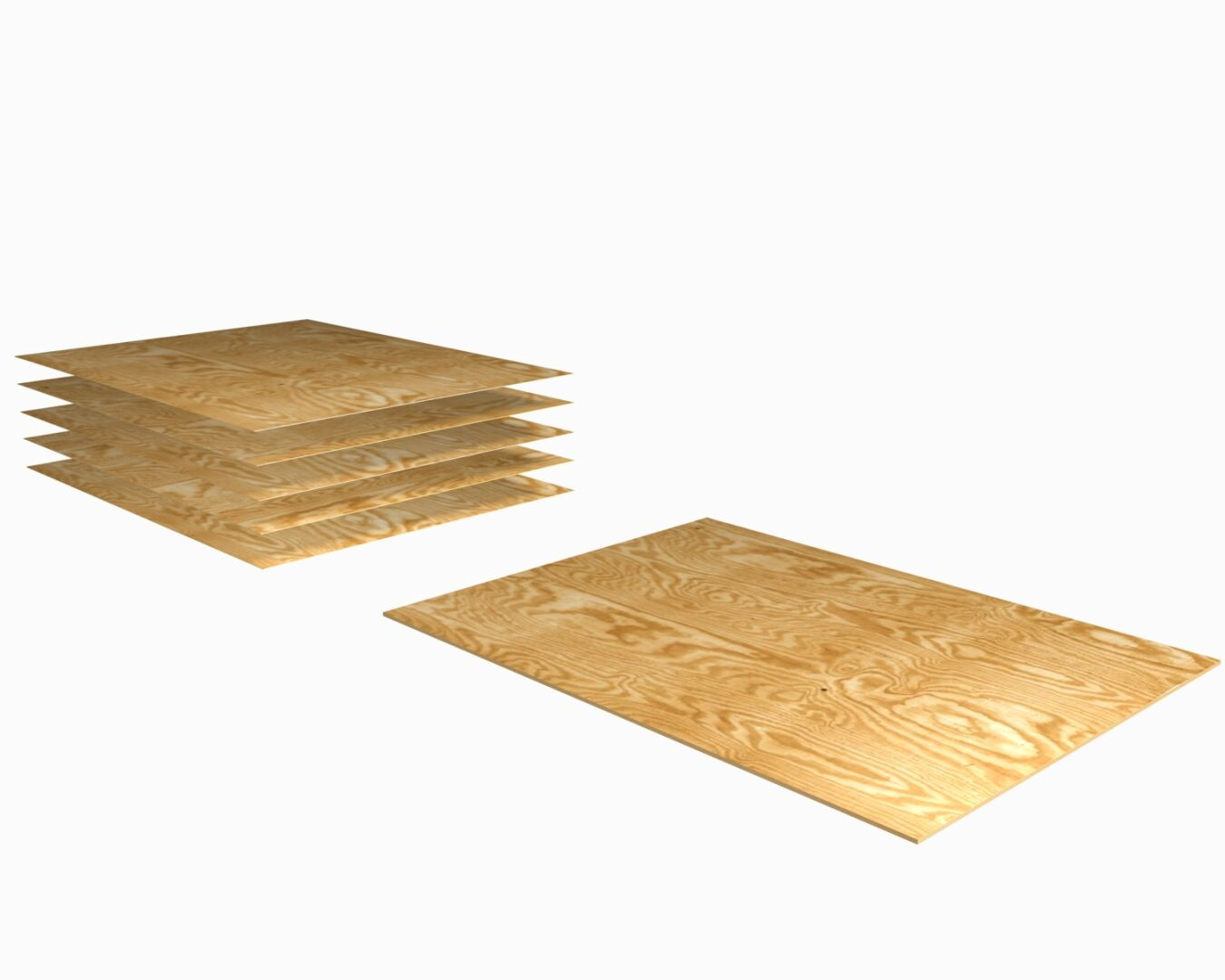 Plywood is a product which is formed by gluing wood veneer sheets together.