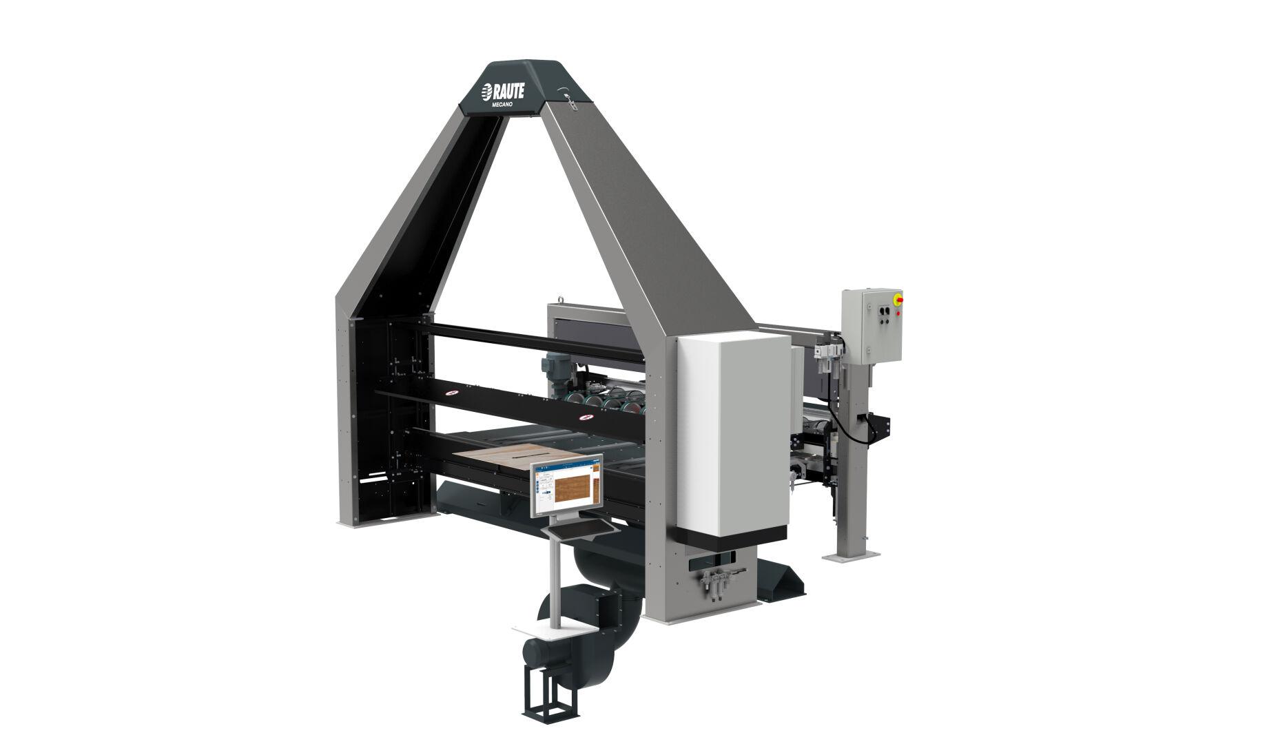 Veneer Visual and Moisture Analyzer R7 - Drying