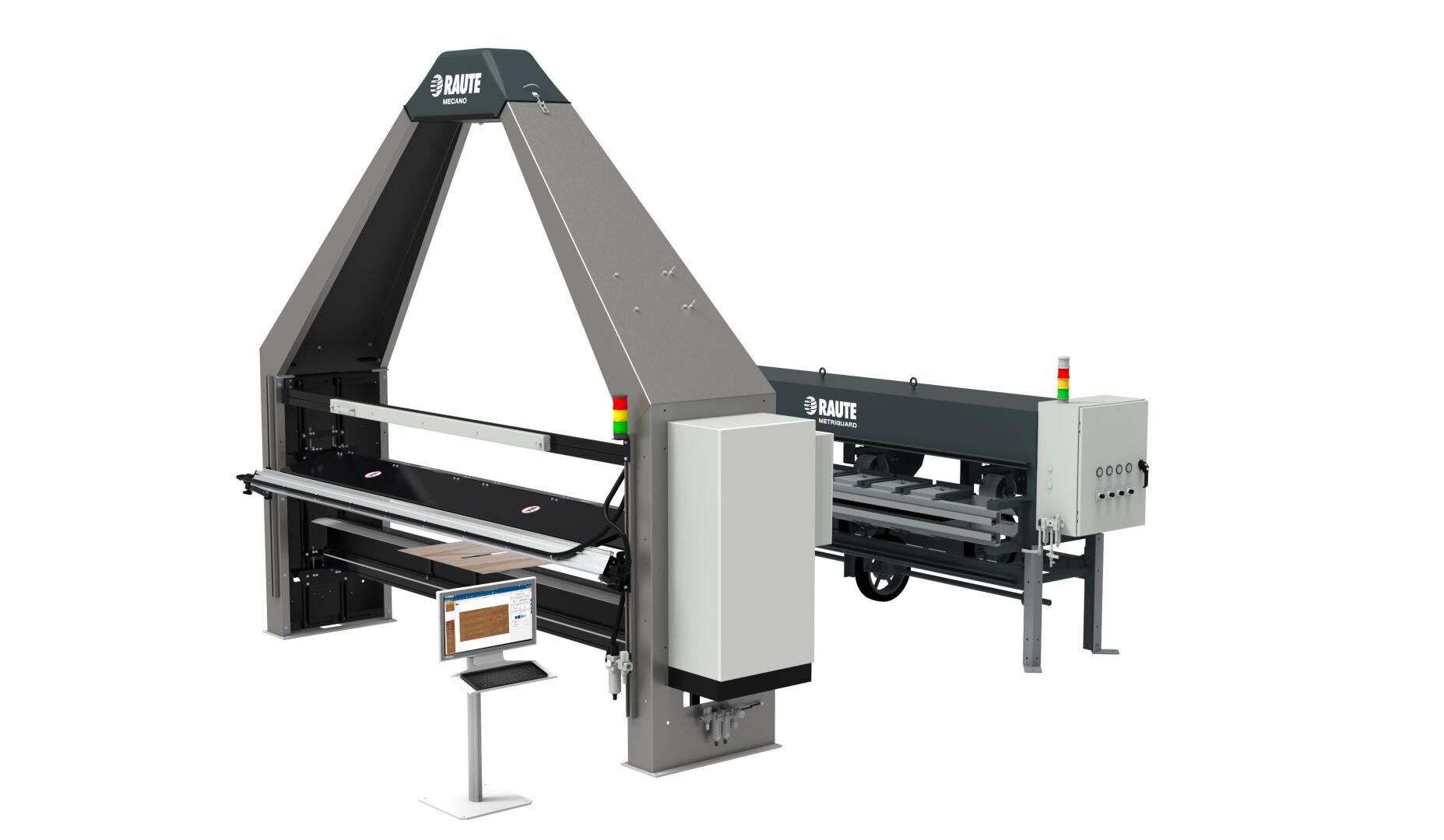 Veneer Visual, Moisture and Strength Analyzer R7 - Drying