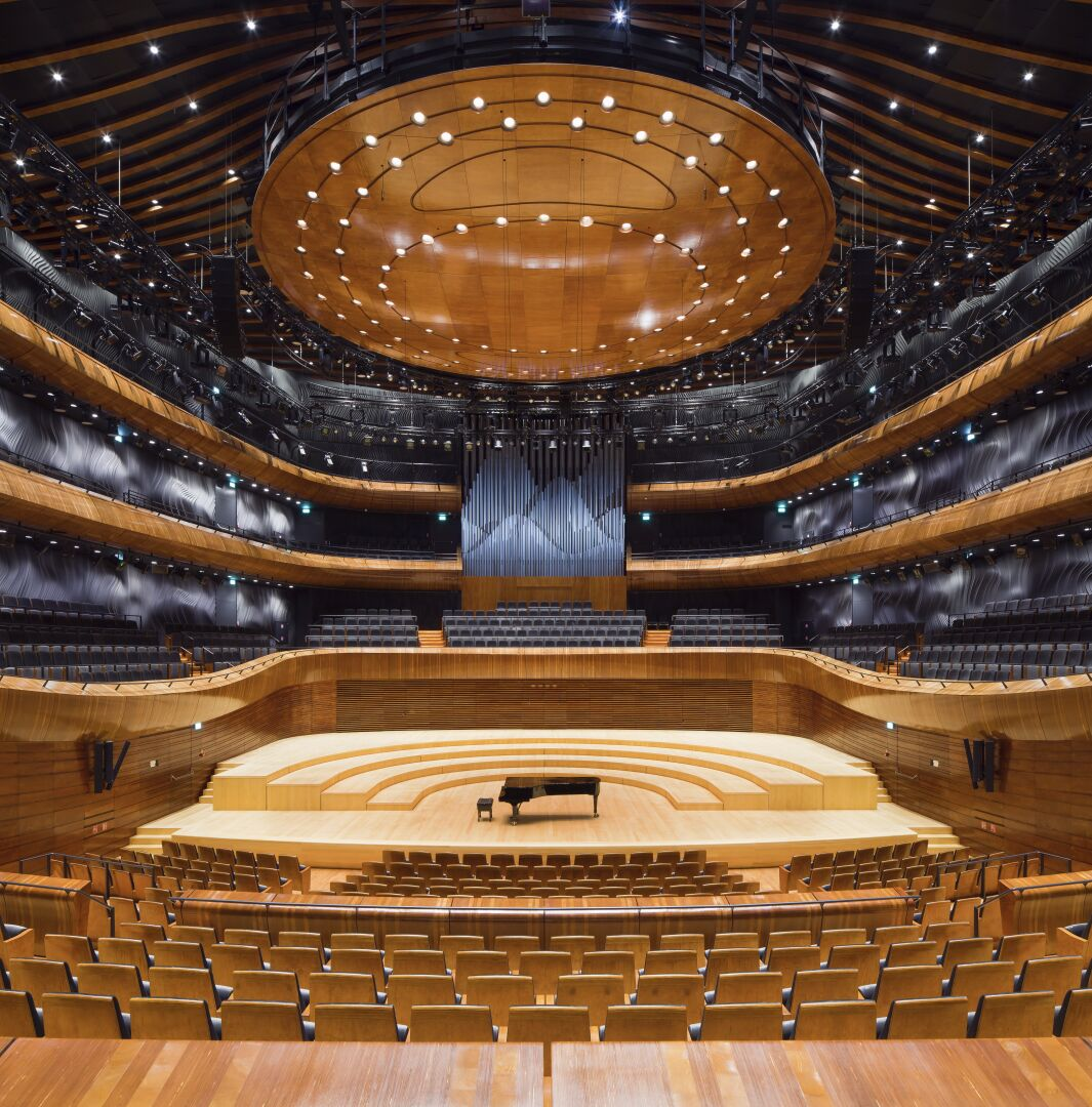 Koskisen Plywood in use at Katowice Concert Hall in Poland